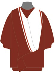 Graduation Academic Dress Doctor of Ministry