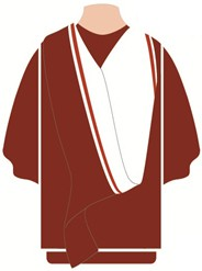 Graduation Academic Dress Doctor of Professional Studies