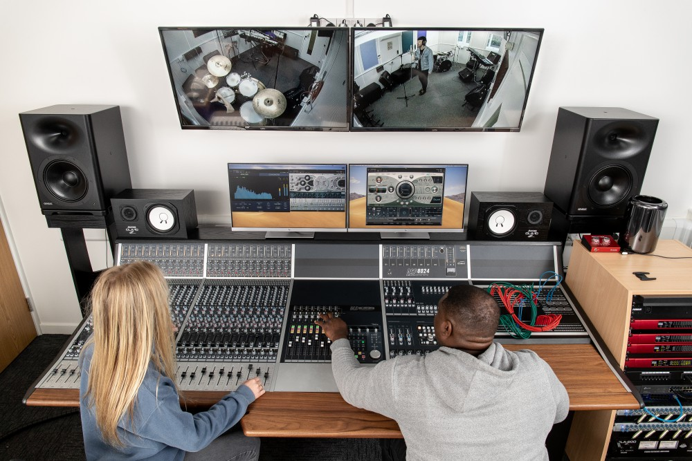 music production course equipment