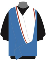Graduation Academic Dress Master of Science