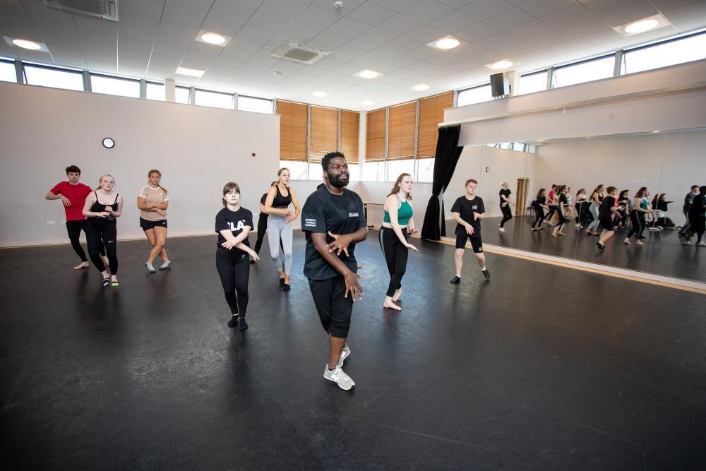Musical Theatre Facilities at University Centre Shrewsbury