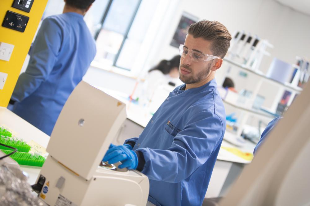 Bioscience facilities at University Centre Shrewsbury