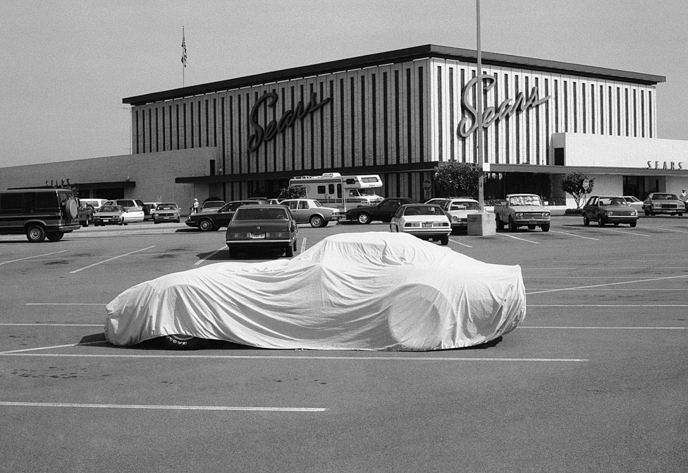 Sears covered car 1987 (copyright Stephen Clarke).