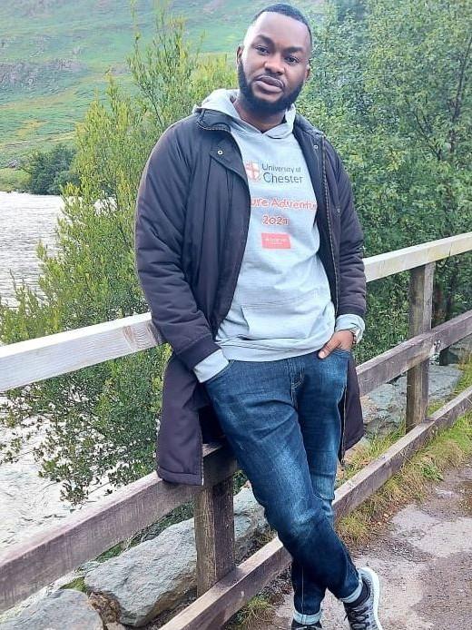 Master of Business Administration student, Anthony Isiwele.