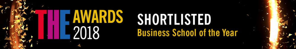 SHort listed Business School of the Year logo