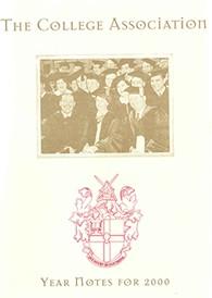 Alumni Cestrian magazine 2000 Year notes