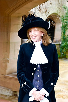 Alexis Redmond MBE, High Sheriff of Cheshire