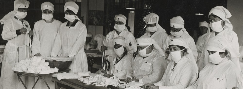 US Nurses during the 1918-19 Flu Pandemic