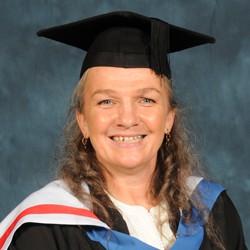 alumni Gillian Burns MBE