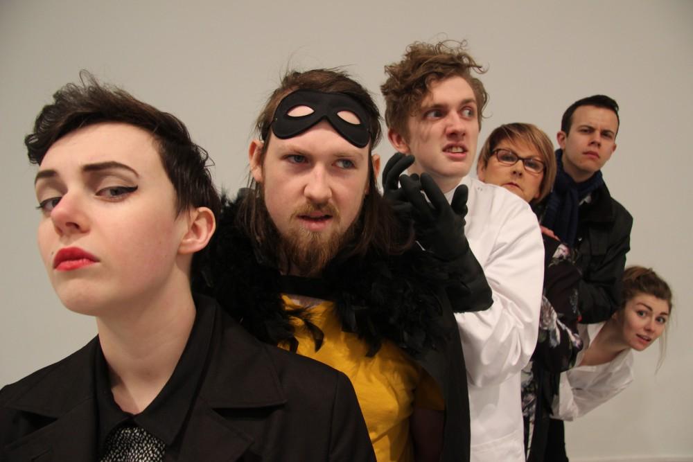 Hivemind members performing 'Pretty Evil'
