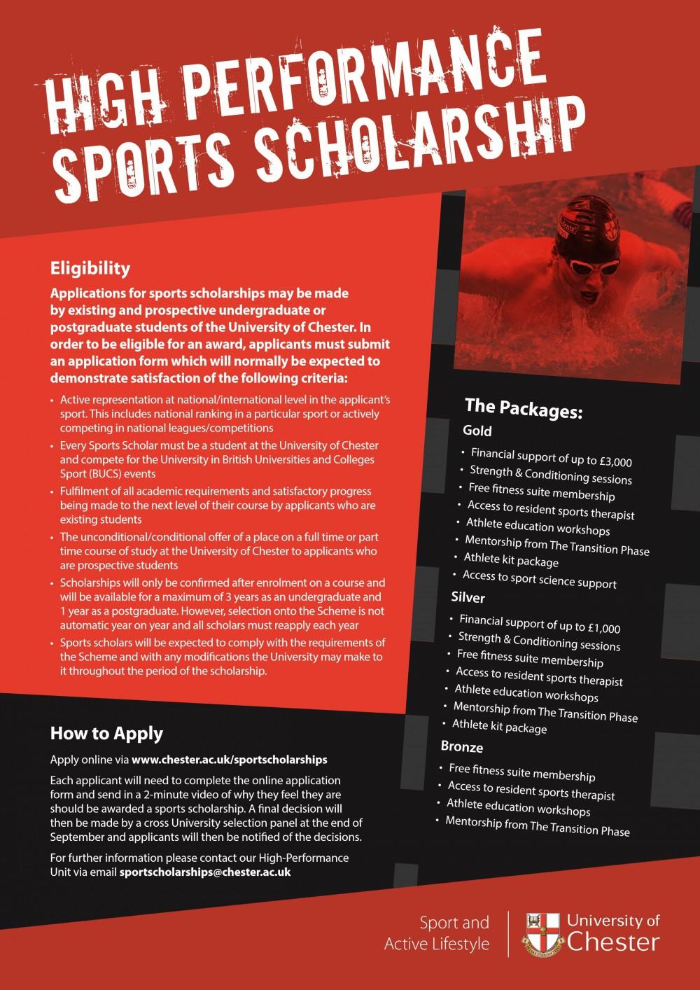 Sport Scholarship, funding, students,