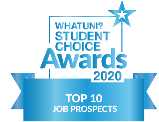 WhatUni Top 10 for Job Prospects
